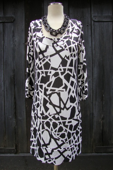 DVF silk jersey dress