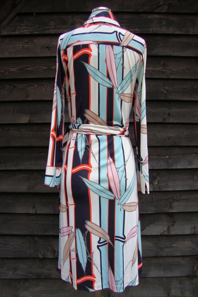 DVF Rona wrap dress
