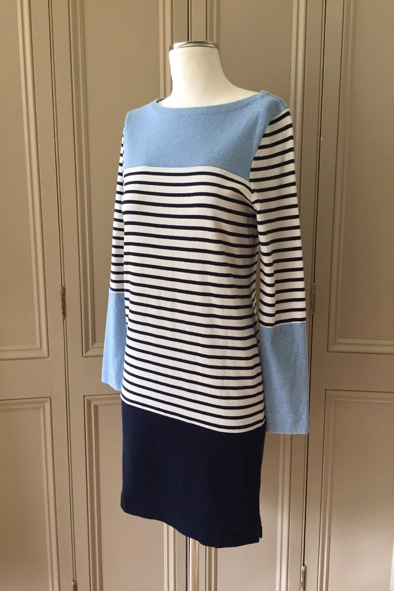 Made In Heaven jersey breton dress