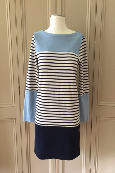 MIH breton jersey dress