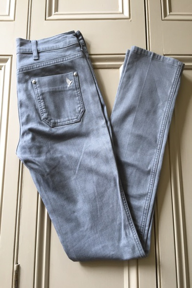 MiH grey Oslo jeans