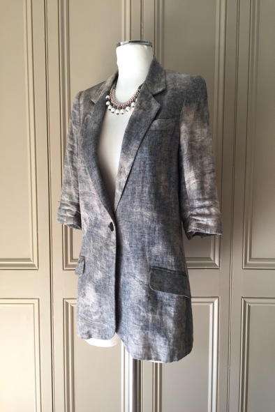 Elizabeth and James linen jacket