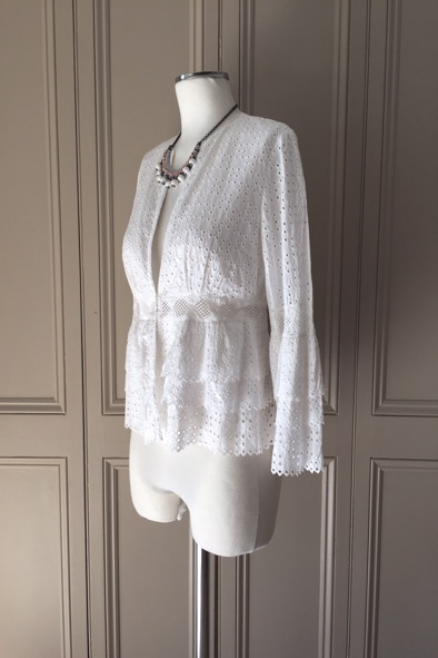 Anne Fontaine broderie anglaise shirt