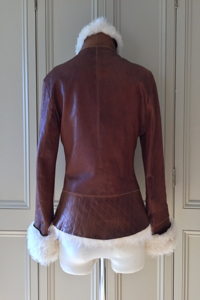 Dom and Ruby sheepskin jacket
