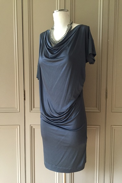 Vivienne Westwood Anglomania asymmetric slinky dress