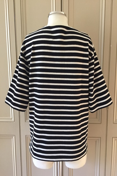 Made In Heaven breton v-neck jersey