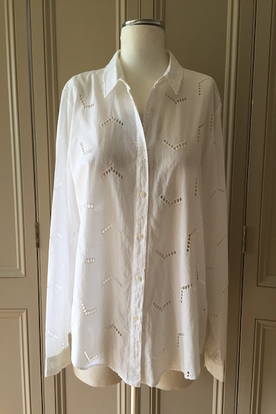 MIH broderie anglaise arrow shirt