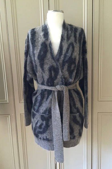 Malene Birger Weva mohair cardigan with tie
